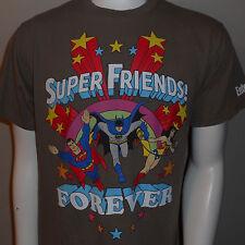 Super Friends Forever T-Shirt Medium DC Comics Superman Batman Wonder Woman