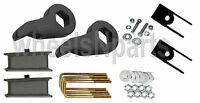 Lift Kit Chevy 99-06 1500 4x4 Truck Blk Keys Shock Extension 3 Fab Steel Blocks