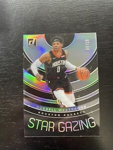 2019-20 Donruss Clearly Russell Westbrook Star Gazing 3/10 /10 SSP SP acetate