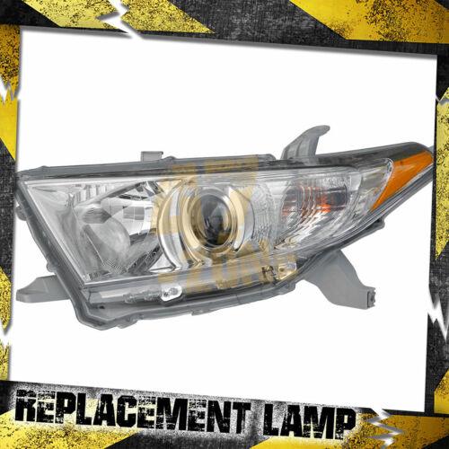 For 2012 Toyota Highlander Left Driver Side Head Lamp Headlight