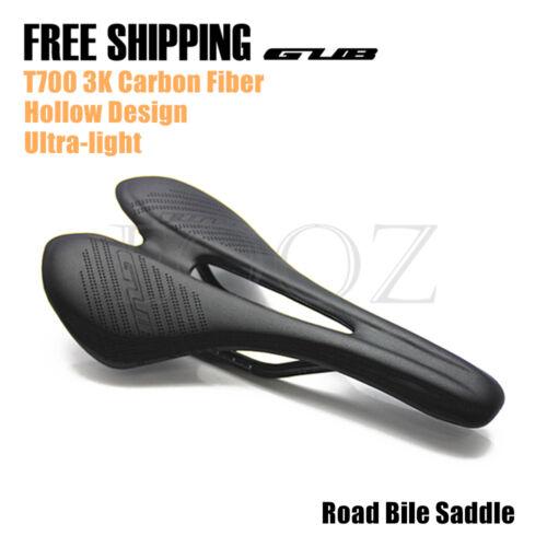GUB 3K Carbon Fiber Ultralight Saddle Road Bike Hollow saddle seat