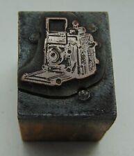 Printing Letterpress Printers Block Small Old Camera