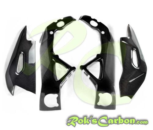 frame + swingarm covers Aprilia RSV4 2009-2014 Carbon protection set