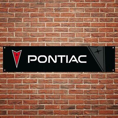 Pontiac Trans-Am Workshop PVC with eyelets Garage Banner