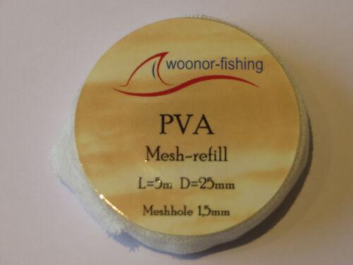 anfüttern. Pva-Netz Boilies 4x5m 20m Karpfen PVA-Mesh refill Partikel