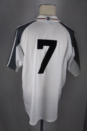 XL #7 Adidas Jersey DFB Germany WM EM Shirt Deutschland Trikot 2000 Gr Fußball
