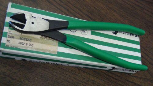 "Stahlwille 66026250 10/"" Heavy duty side cutters standard bevel Made in Germany"
