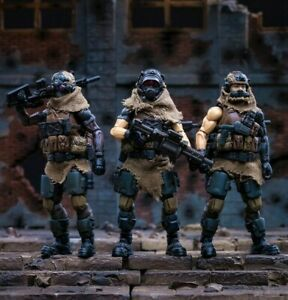 Joy Toy 1//25 Scale Alpha Warband Soldier PVC Figure Strike Team Green Version