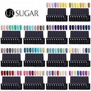 6-8Bottles-UV-Gel-Nail-Polish-Soak-off-Colorful-Gel-Varnish-UR-SUGAR