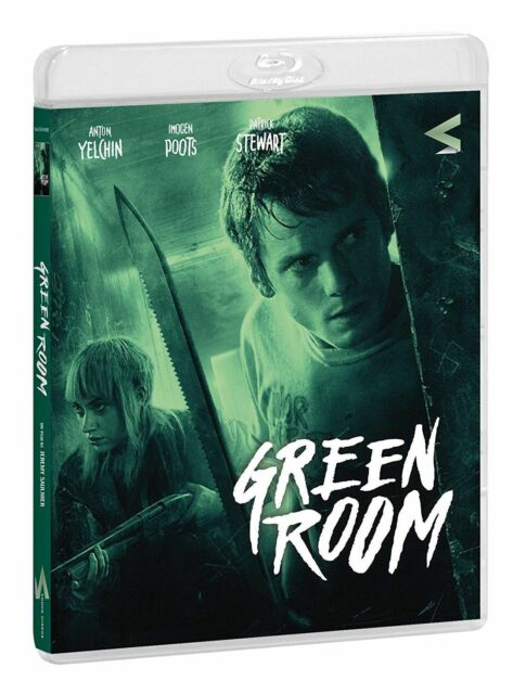 GREEN ROOM - 2015 - BLU-RAY nuovo sigillato  [dv42]