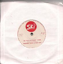 """Manfred Mann & Mike Hug (Hugg) Ski """"Full-Of-Fitness"""" Theme UK 45 7"""" single"""