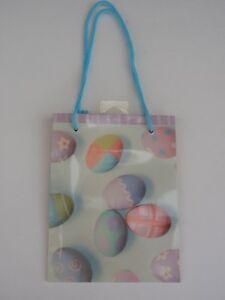 Hallmark cards inc easter egg gift bag small purple pastel colors 6 image is loading hallmark cards inc easter egg gift bag small negle Choice Image