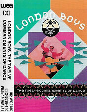 LONDON BOYS TWELVE COMMANDMENTS OF DANCE CASSETTE ALBUM Electronic Synth-pop Di