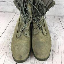 "Bates Men's 8"" DuraShocks® Military Sage Green Steel Toe Boot E00910 Men's 11.5"