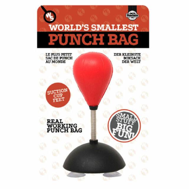 World's Smallest Desktop Punch Bag Stress Relief Office Gadget Secret Santa Gift