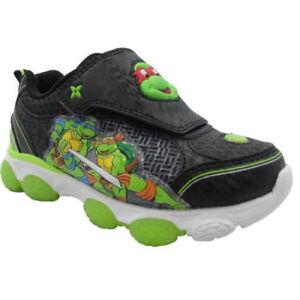 1beee21cec4a Image is loading MUTANT-NINJA-TURTLES-Nickelodeon-Light-Up-Shoes-Sneakers-