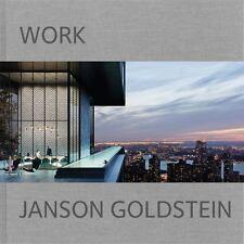 Janson Goldstein: Work, , Scuro, Steven, Goldstein, Hal, Janson, Mark, New, 2016