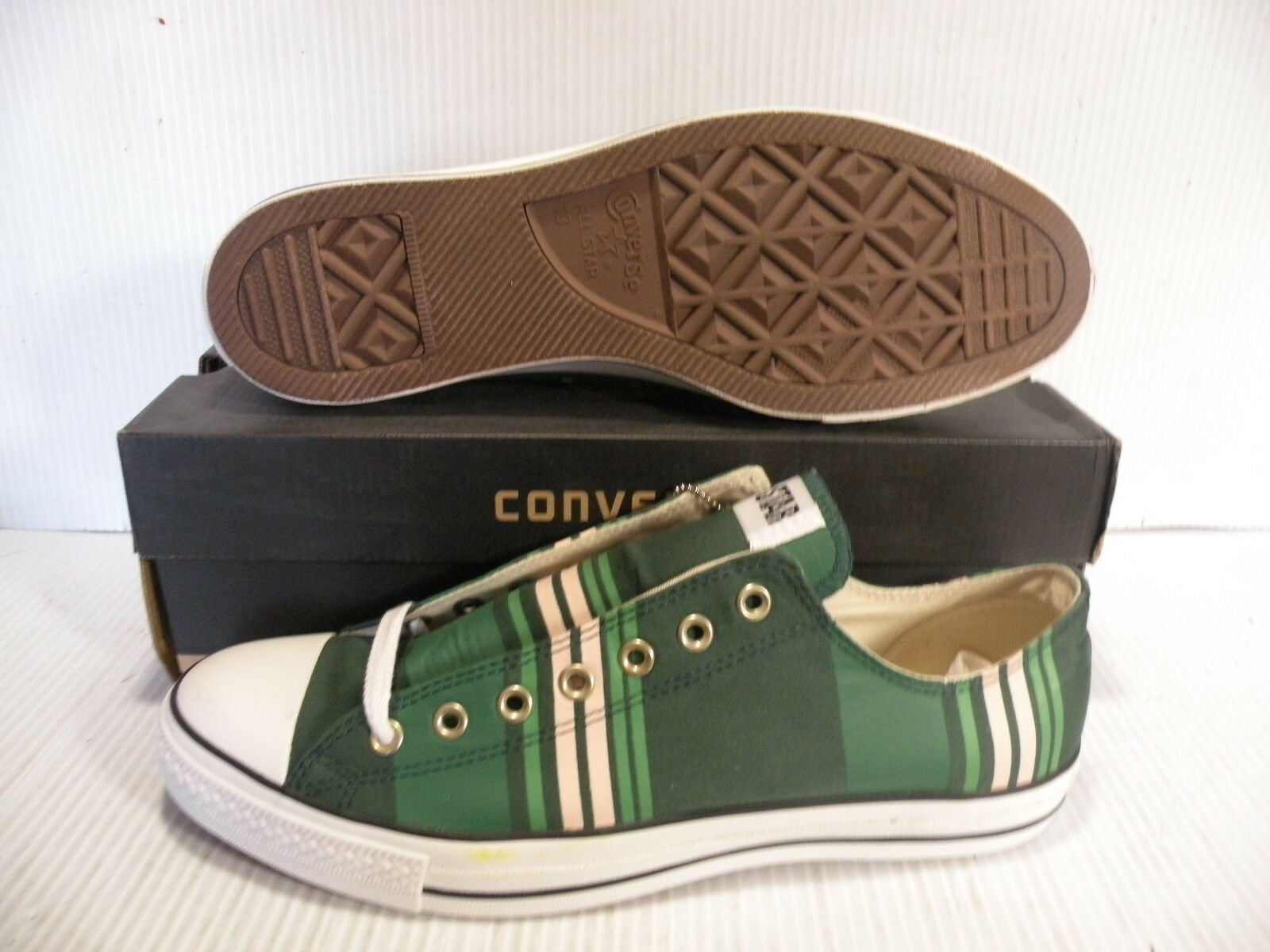 CONVERSE ALL STAR OX CHUCK TAYLOR CLUB OX LOW SIZE MEN Schuhe GREEN AS751 SIZE LOW 13 NEW 9cff75