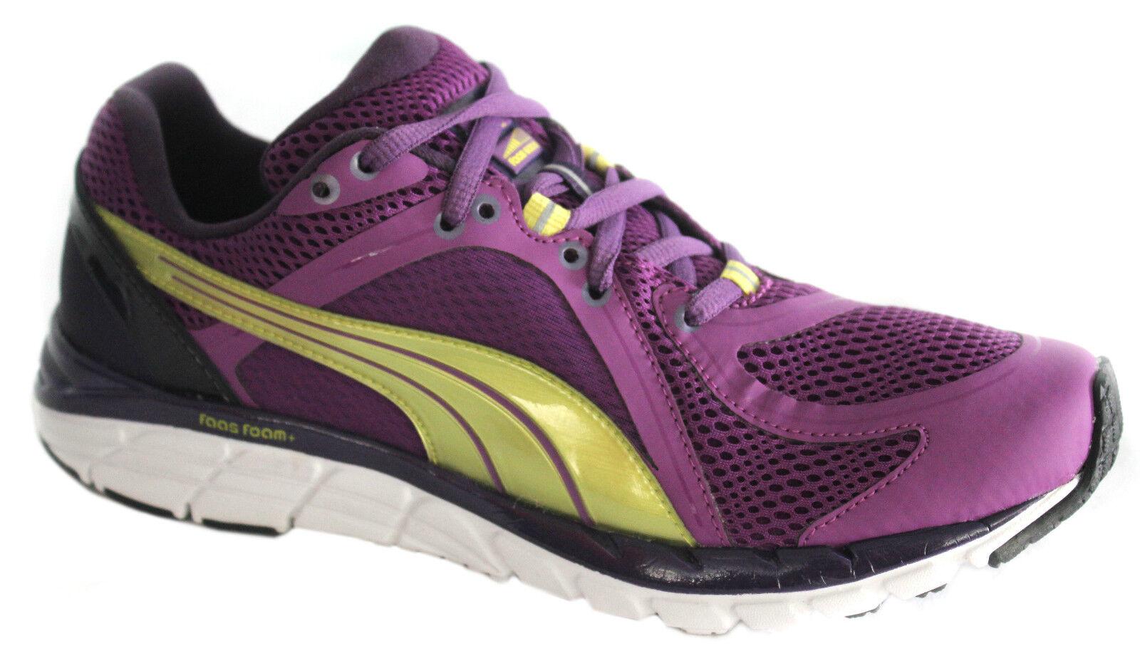 Puma Faas 600 S Chaussures Femme Baskets Chaussures de course à lacets maille violet 186734 01 D20