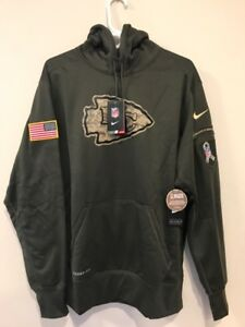 half off 8eb31 1b189 Details about KANSAS CITY CHIEFS 2015 NIKE NFL SALUTE TO SERVICE HOODIE XL  LAST ONE !!!!