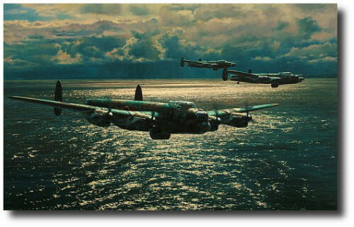 4 Signatures Lancaster Dambusters Pathway to the Ruhr by Anthony Saunders