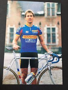 CHARLY MOTTET Tour De France Radsport signed Autogrammkarte 10x15