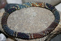 Nepal Bracelet glass Seed Bead Roll On Bracelets Crochet handmade bracelet G346