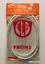Brake cable set vintage CLB ultralight white duralinox sheath 85g NOS