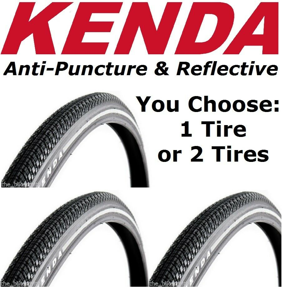 Kenda Kwick Trax Commuter Bicycle Tire with Iron Cap