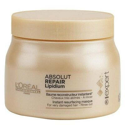 Loreal Absolut Repair Lipidium Instant Reconstructeur Very Damaged Hair 500ml