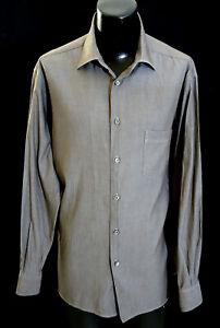Ermenegildo-Zegna-Casual-Shirt-2XL-18-5-36-37-Made-in-Italy