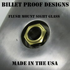 FLUSH MOUNT Fuel Sight Glass Gas Gauge Tank Chopper Motorcycle Bobber Harley USA