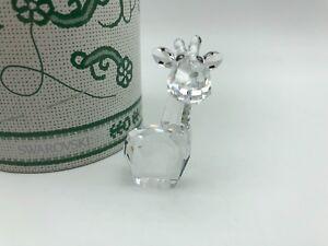 Swarovski-Figurine-887724-Girafe-5-5-cm-avec-Emballage-D-039-Origine-amp