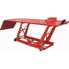 NEW! 1000 LB MOTORCYCLE ATV  LIFT BIKE STAND JACK TABLE -- WHAT A VALUE!!!
