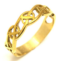 Celtic Ring 9ct Gold (ce12)