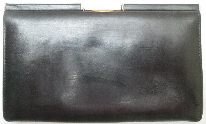 - le tanneur wallet/purse leather clipsé tbeg vintage 60's