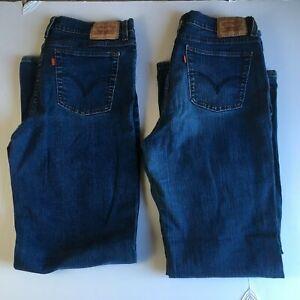Levi's bien Cut 31w jeans x 31l lot amincissant 14 512 m très femmes 2 Boot pour CH8vXwOq