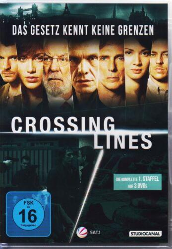 1 von 1 - Crossing Lines  1. Staffel  DVDs NEU