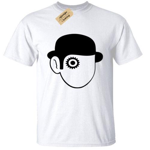 Clockwork Orange T-Shirt Mens Retro Film Cult Classic S-5XL