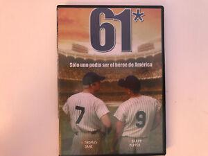61-DVD-Unico-Ripiano-Rivestito-Essere-Il-Hero-De-America-Thomas-Jane-Barry