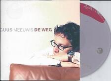 GUUS MEEUWIS - De weg CD SINGLE 2TR CARDSLEEVE 2005 HOLLAND RARE!