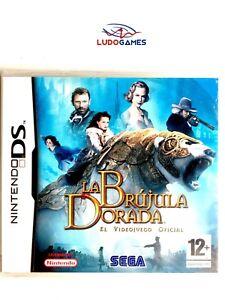 Boussole-Doree-Nintendo-DS-Pal-Spa-Scelle-Videojuego-Neuf-Nouveau-Scelle-Retro