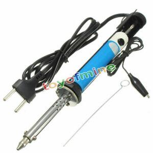 2-en-1-Fer-a-Souder-dessouder-soudure-Soudage-30W-220V-Pompe-Etain-Electronique