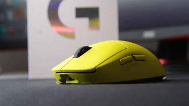 Logitech G Pro - OP Pro Wireless Gaming Mouse- Lime *Fast shipping