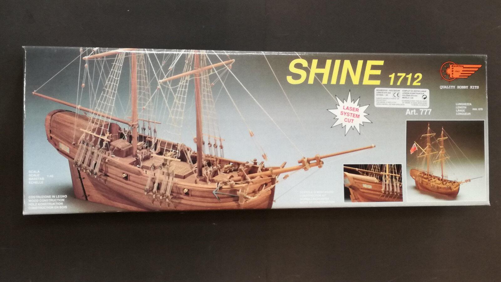 Mantua Model kit Legno barca Nave art 777 -  SHINE 1712