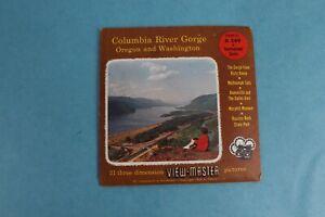 VINTAGE VIEW-MASTER 3D REEL PACKET A249 COLUMBIA RIVER GORGE OREGON WASHINGTON