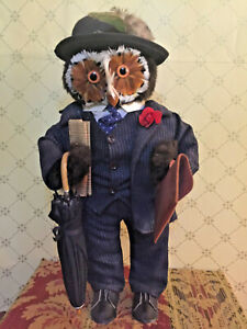 Vintage-Abercrombie-And-Fitch-Business-Owl-45cm