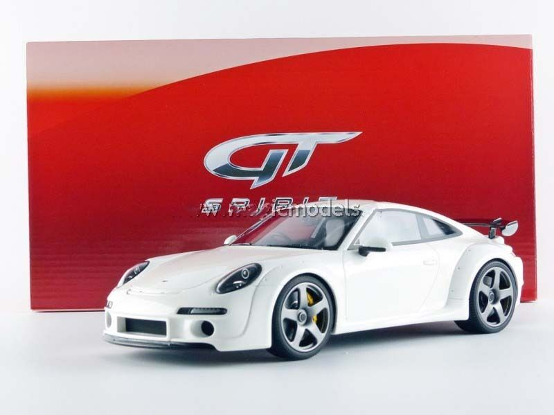 GT Spirit 2015 PORSCHE 911 991 RUF Tuning RGT White 1 18 Scale LE of 991 New