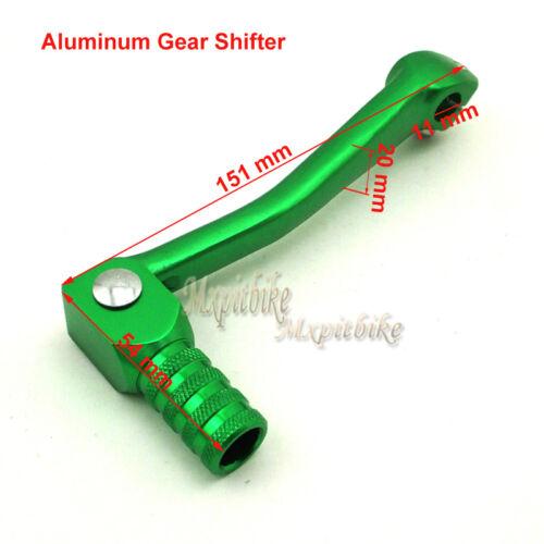 Green Gear Shifter Lever Handle Grips For 110cc-160c CRF XR KLX Pit Dirt Bike