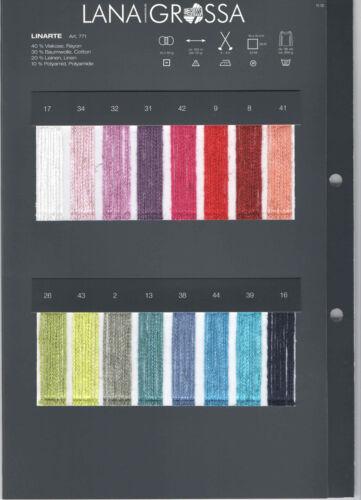 Lana Grossa linarte diferentes colores para elegir